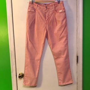 Antr PILCRO Pink Acid Wash Buttonfly Straight Jean